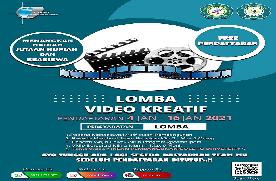 Lomba Video Kreatif INSAN PEMBANGUNAN
